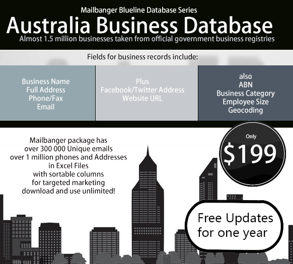 Australia business database
