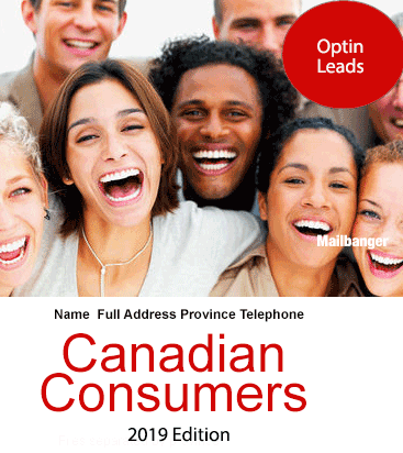 Canada consumer sales leads