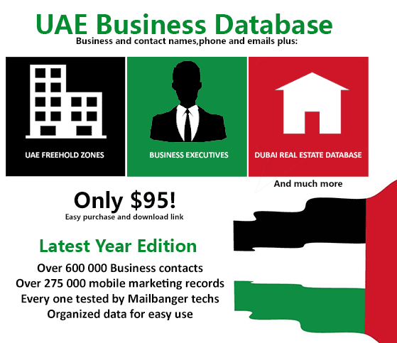 UAE Business Database