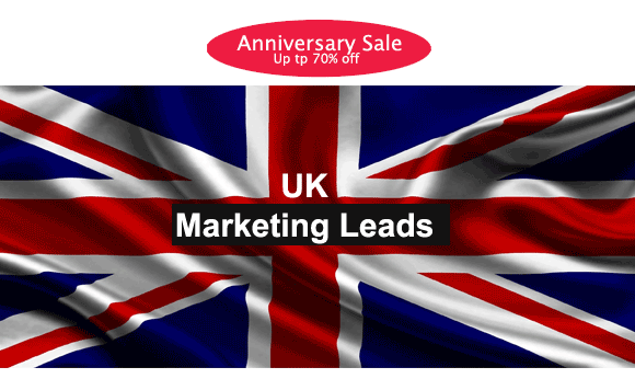 marketing leads UK