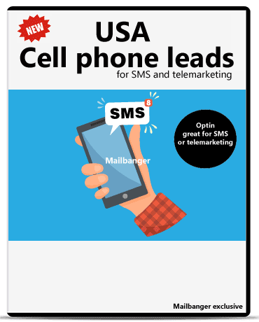 USA Cell phone leads sms
