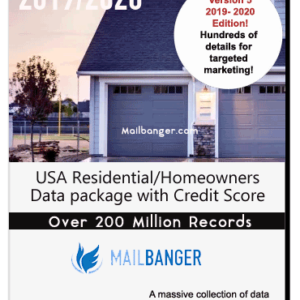 USA Homeowners database
