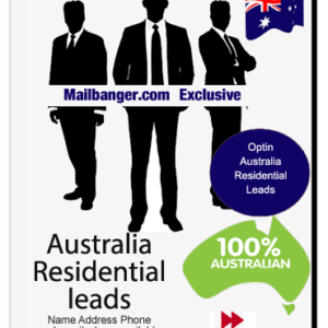 Australia marketing lists