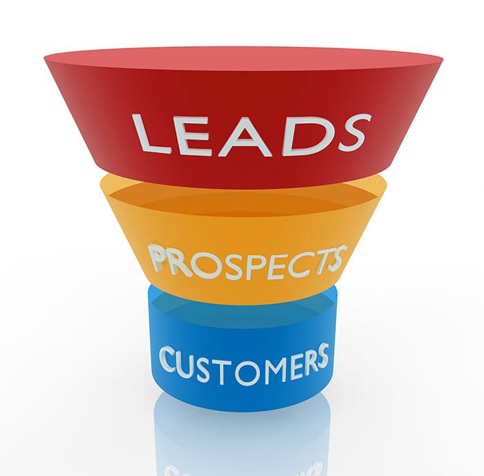 Online B2B lead generation