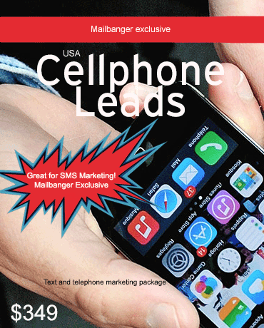cell phone numbers list for telemarketing