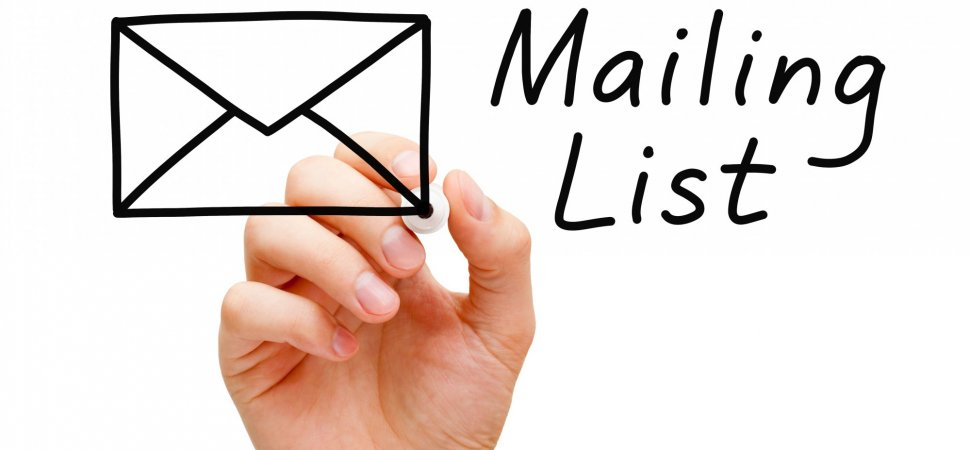 email list sales