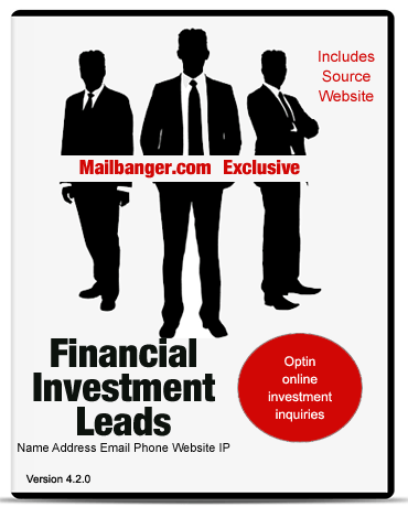 financial investment leads