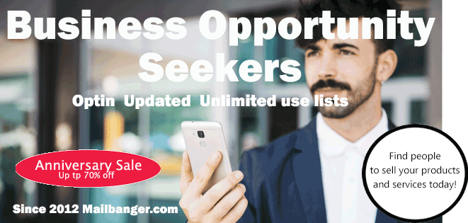 Home based business opportunity seekers