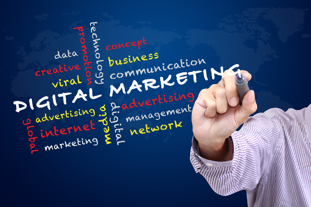 Integrating digital marketing
