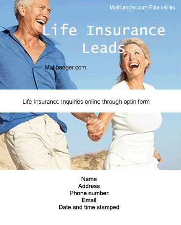 life insurance leads