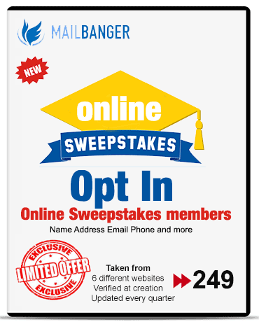online sweepstakes leads