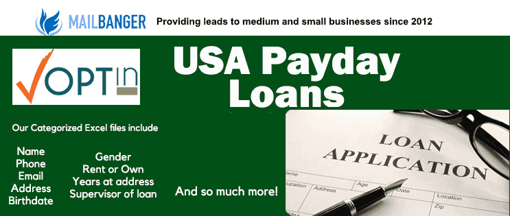 Buy payday loans leads