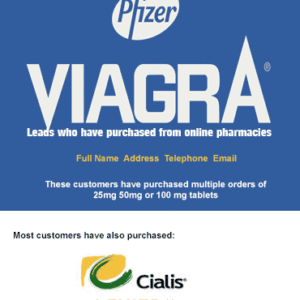 Viagra users leads