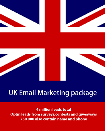 UK email leads list