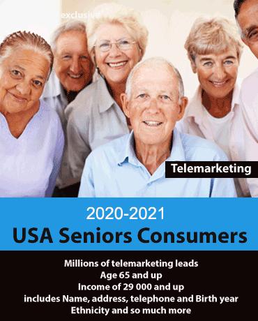 USA Senior Citizens consumer Database